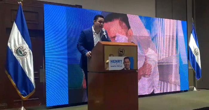 Henry Flores  anuncia gira por Europa para gestionar inversión en Santa Tecla