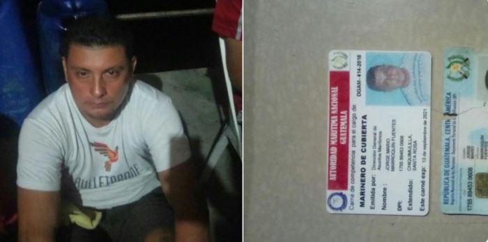 Fiscalía confirma la captura de hermano de alcalde guatemalteco por tráfico droga en aguas salvadoreñas