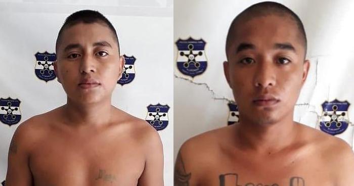 Capturan a hermanos pandilleros en San Miguel. Uno portaba un brazalete