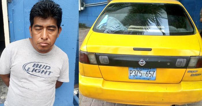 Capturan al homicida del vigilante privado, quien fue asesinado ayer en el centro de San Salvador
