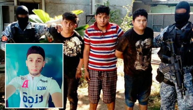 Capturan a pandilleros, entre ellos el asesino de un joven de Ciudad Arce, en Izalco