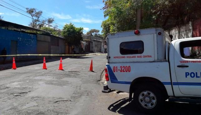 Asesinan a un empleado de un taller en Barrio Santa Anita, San Salvador