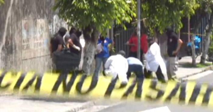 Asesinan a un hombre en Barrio San Jacinto, San Salvador