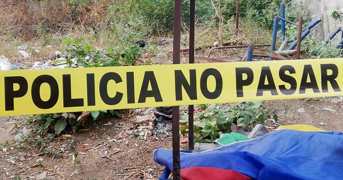 Joven asesinado en predio baldío en colonia de San Miguel
