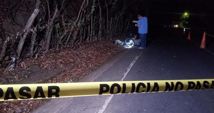 Matan a un hombre cuando conducía una bicicleta en Santa Elena, Usulután