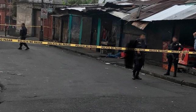 Hombre muere cerca del Parque Infantil, en el centro de San Salvador