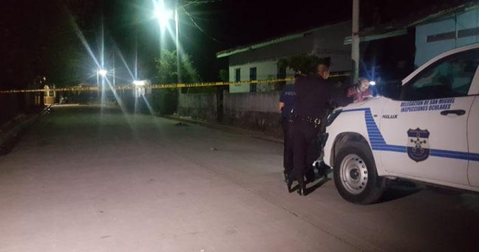 Interceptan y asesinan a un hombre en Chirilagua, San Miguel