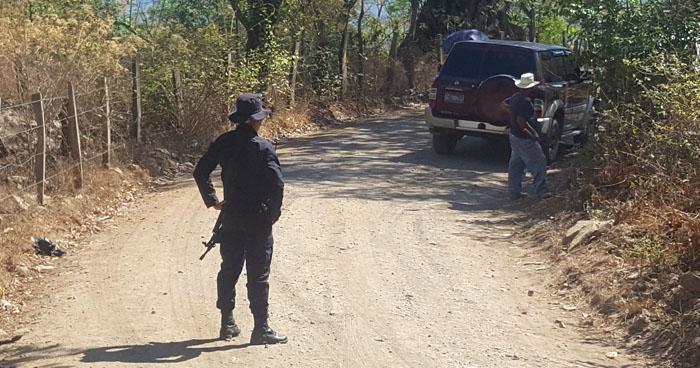 Asesinan a un joven cuando se dirigía a trabajar, en Morazán