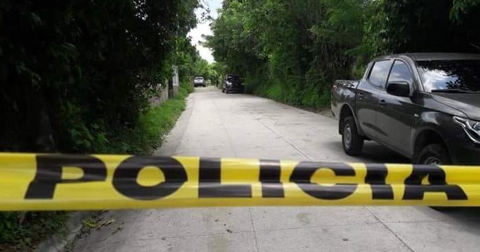 Delincuentes asesinan a un joven en calle principal de San Pedro Perulapán, Cuscatlán