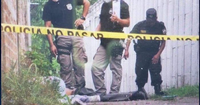 Asesinan a pandillero en calle al Volcán, en San Salvador
