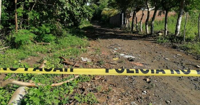 Encuentra un cadáver semi enterrado en colonia Guatemala de San Miguel