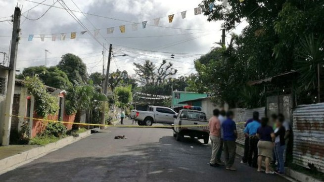 Delincuentes asesinan a un joven en San Martín, San Salvador