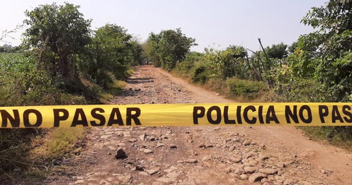 Pandillero asesinado en su primer día de trabajo en Jiquilisco, Usulután