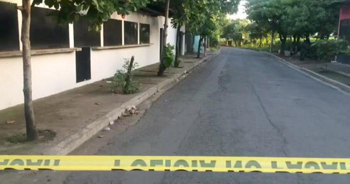 Asesinan a pandillero frente a su vivienda en Usulutan