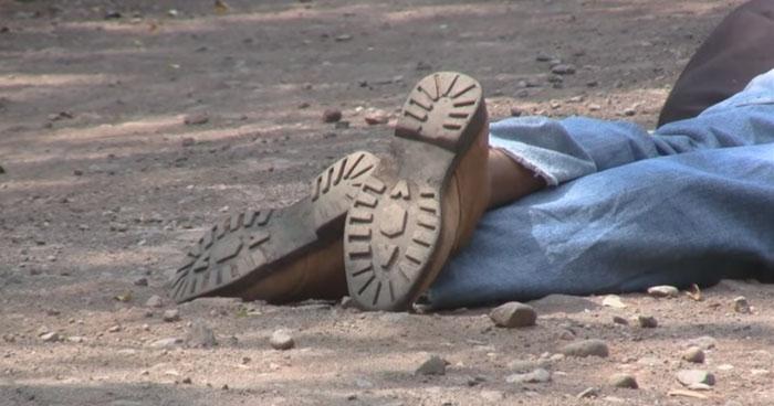 Un hombre fue degollado en cantón de Jujutla, Ahuachapán