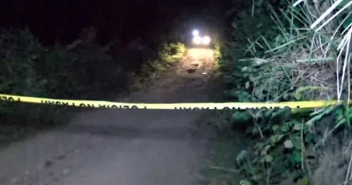 Dos pandilleros fueron asesinados esta madrugada en San Luis La Herradura, La Paz