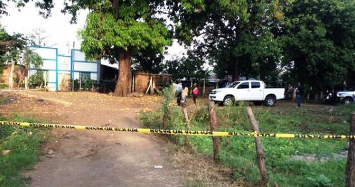Criminales asesinan a un hombre, de 70 años de edad, en calle principal de San Alejo, La Unión