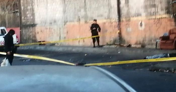 Un fallecido y un lesionado tras ataque con arma blanca en Santa Tecla