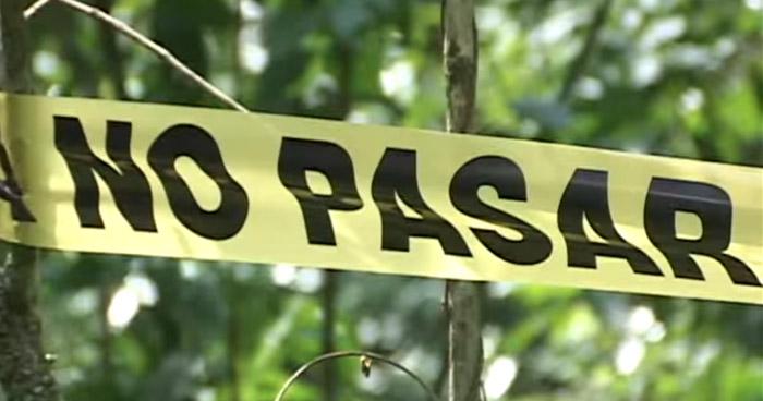 Un muerto y un lesionado dejó ataque armado registrado en Metapán