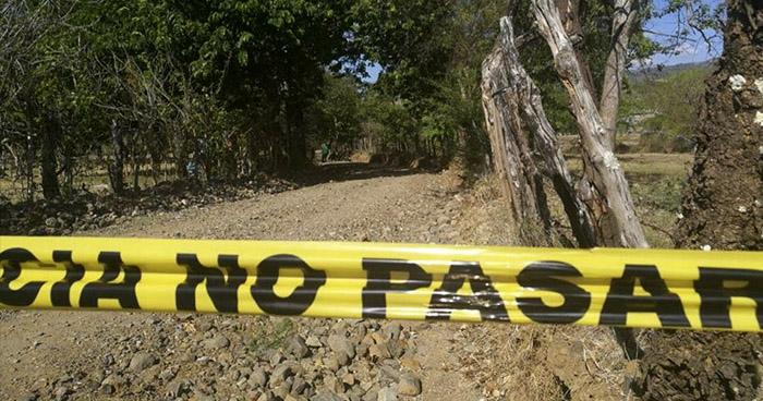 Pandillero asesinado en Sociedad, Morazán