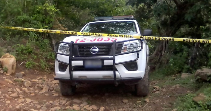 Delincuentes asesinan a un joven dejandole caer una roca en la cabeza, en Morazán