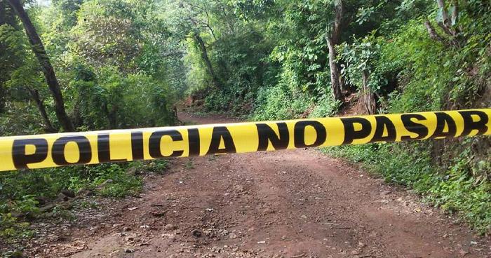 Encuentran muerto a un joven que desapareció ayer en Guatajiagua, Morazán