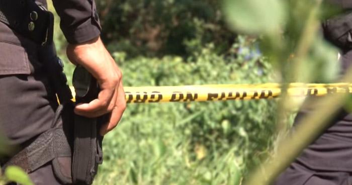 Hallan dos cadáveres en un predio baldío en Nahuizalco, Sonsonate