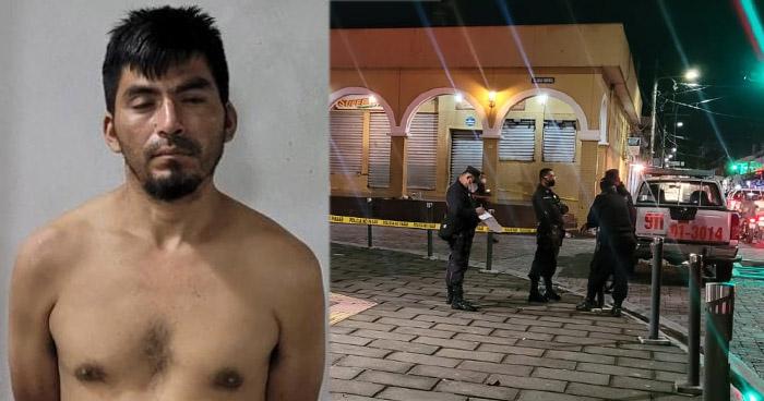 Asesinó a golpes a un hombre a un costado del parque Libertad, en San Salvador