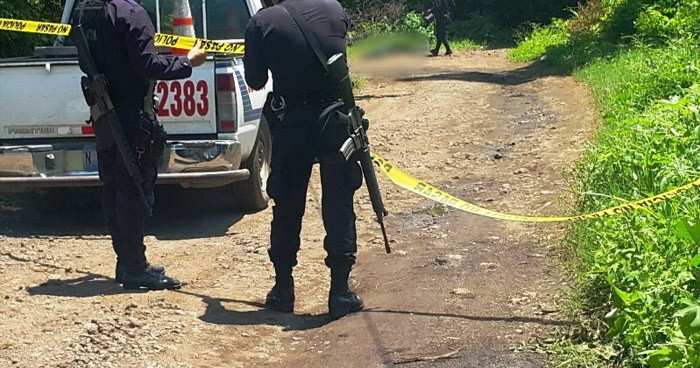 Asesinan a un jornalero sobre calle principal de San Luis Talpa, La Paz