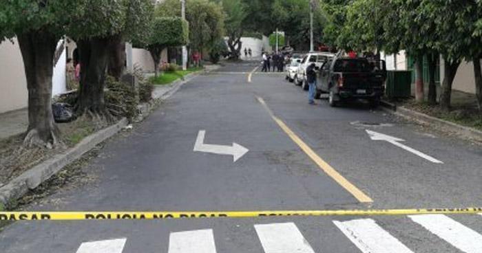 Delincuentes asesinan a un hombre que trabajaba en una vivienda del final del Paseo General Escalón