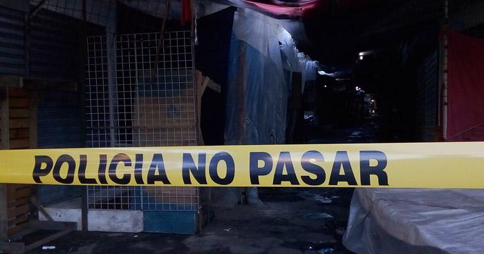 Matan a un hombre en la calle Gerardo Barrios, en el centro de San Salvador