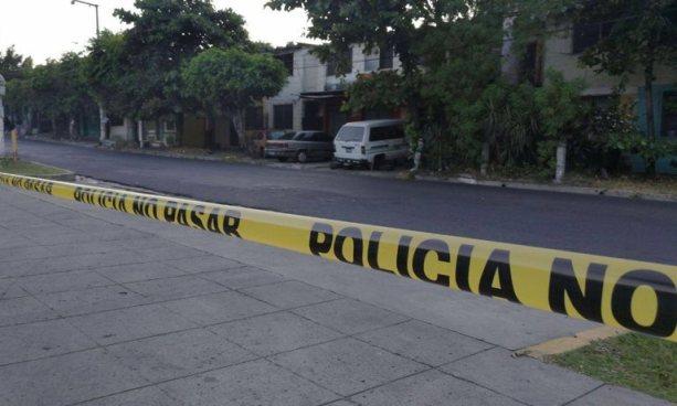 Matan a una persona en cercanías de Plaza El Trovador, San Salvador