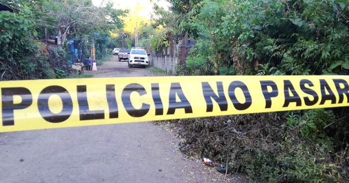 Asesinan a joven pandillero en San Diego, La Libertad