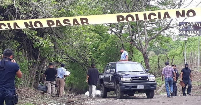 Asesinan a dos pandilleros con brazalete electrónico en San Miguel