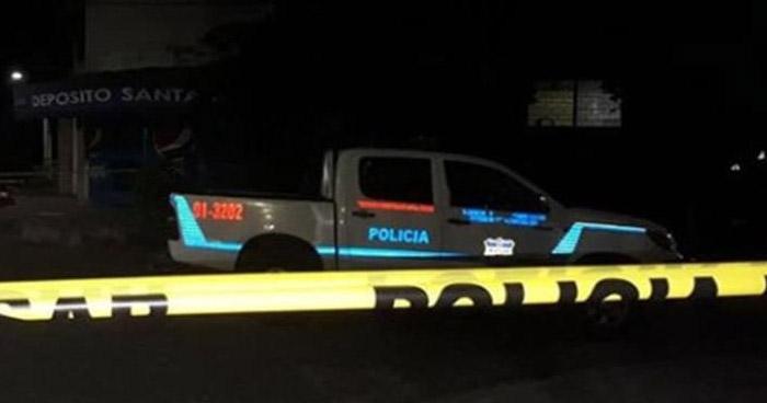 Presunto pandillero fue asesinado en la noche en Nuevo Lourdes, Colon
