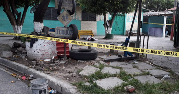 Asesinan a un hombre en calle principal de la colonia Amatepec, Soyapango