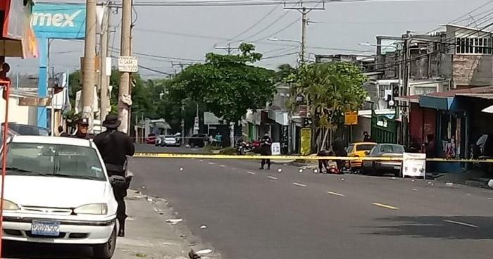 Asesinan a un hombre cerca del cementerio municipal de Soyapango