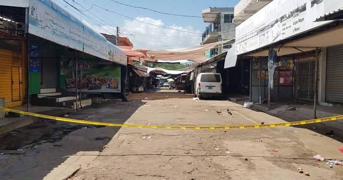Mujer fue asesinada este mediodía cerca del mercado regional de Usulután