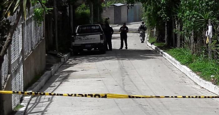 Matan a un pandillero y lesionan a cuatro personas mas en Zacatecoluca