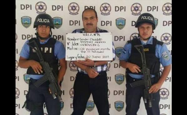 Autoridades hondureñas capturan a salvadoreño acusado de secuestro