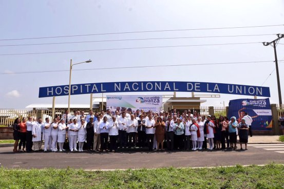 Presidente Sánchez Cerén inaugura nuevo Hospital Nacional de La Unión