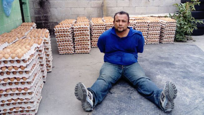 Ladrón de huevos es capturado en San Salvador