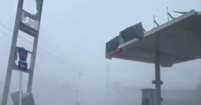 Imágenes que demuestran la fuerza con la que llegó el huracán Michael a Florida, Estados Unidos