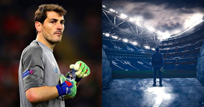 Iker Casillas anuncia su retiro del fútbol