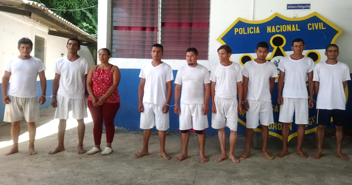 Capturan a implicados en un triple homicidio perpetrado en Atiquizaya, Ahuachapán