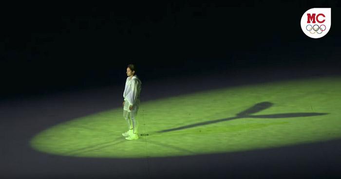 Así fue la emotiva ceremonia inaugural de los Juegos Olímpicos de Tokio