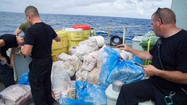 Canadá incauta 1,3 toneladas de cocaína en costas de Centroamérica