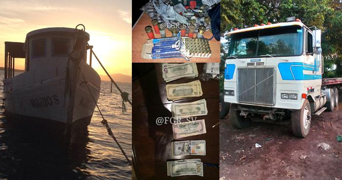 Incautan inmuebles, vehículos, armas y dinero en efectivo a pandilleros de la MS durante operativo