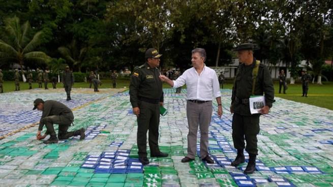 Incautan más de 12 toneladas de cocaína en Colombia