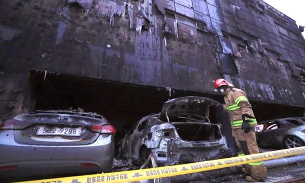 Al menos 29 muertos tras incendio en un edificio en Corea del Sur